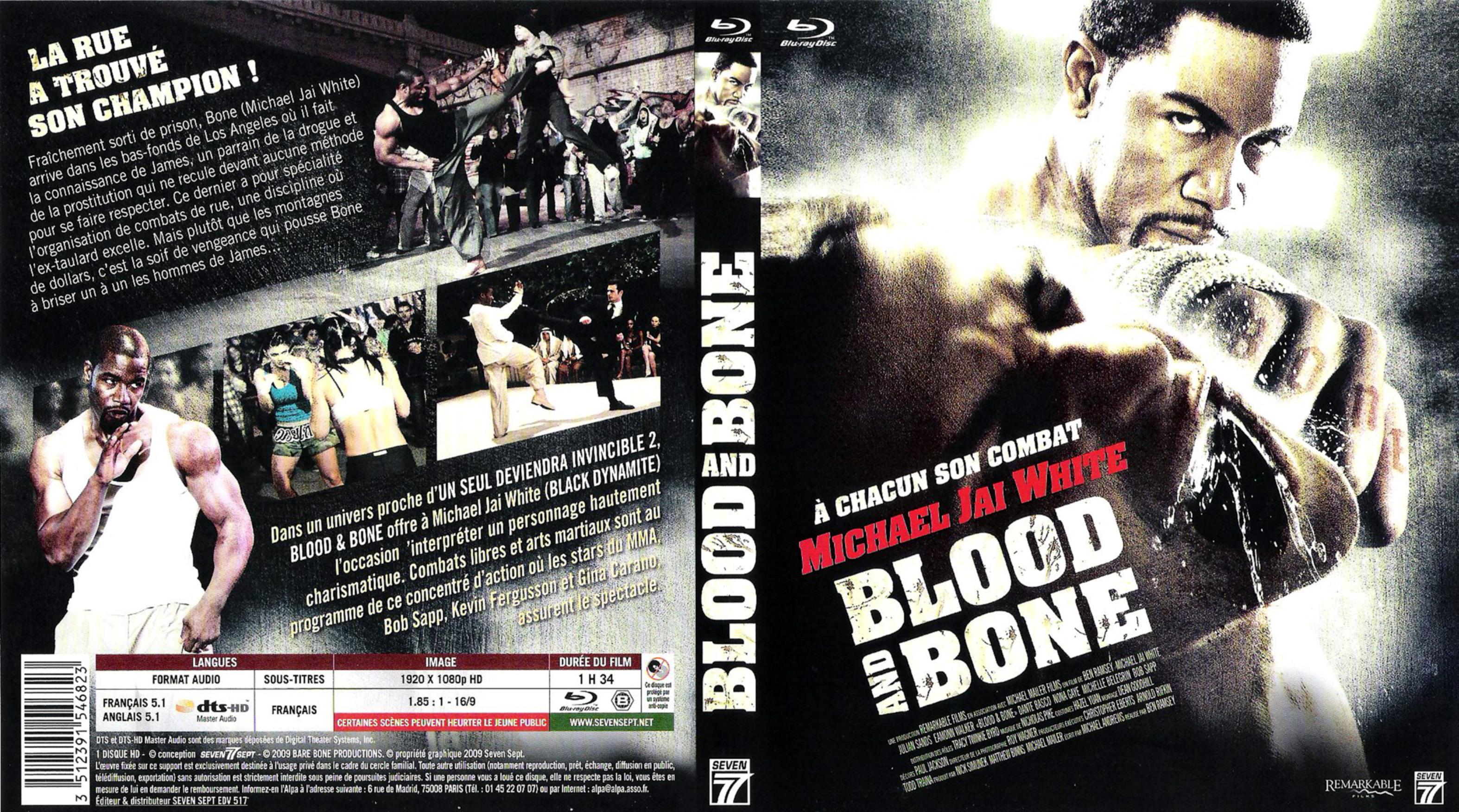 Blood and bone (blu-ray) Covers