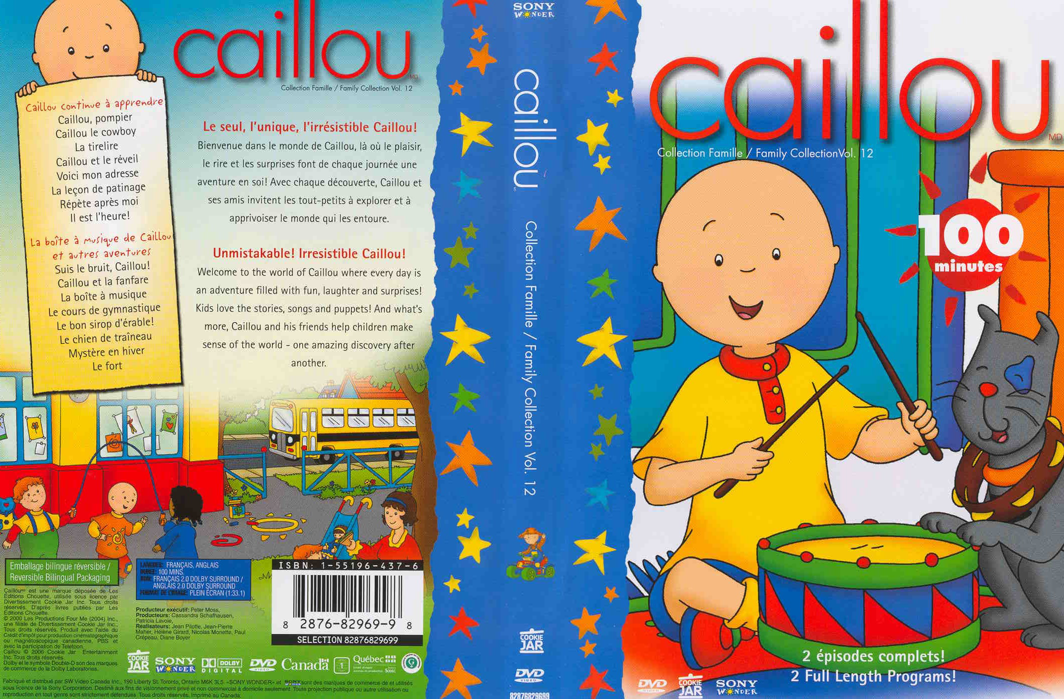 Caillou - Family Collection: Volume 6 new dvd - fileswesternCaillou Family Collection