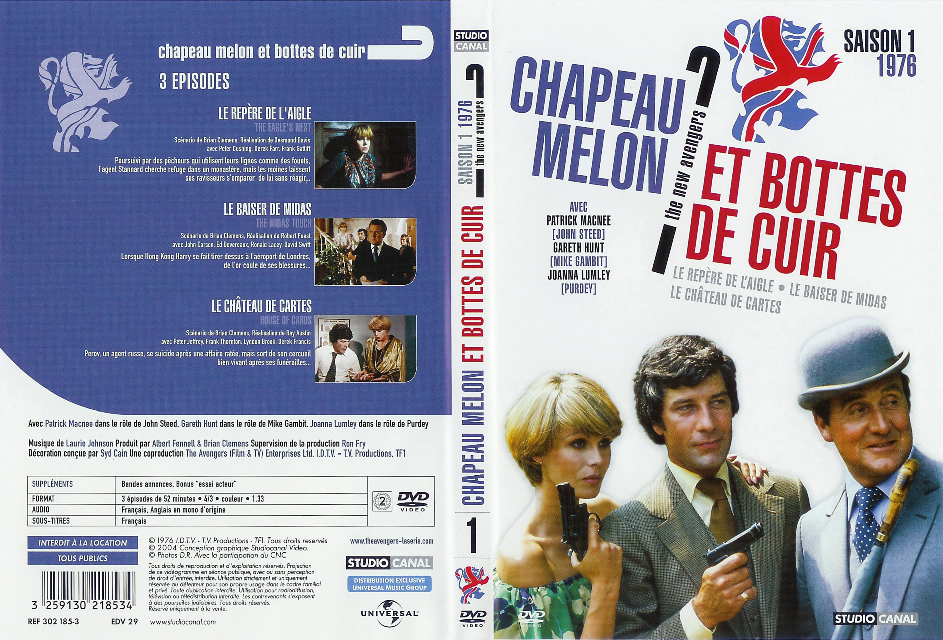 Chapeau melon et bottes de cuir 1976 vol 1 covers - Chapeau melon et bottes de cuir purdey ...