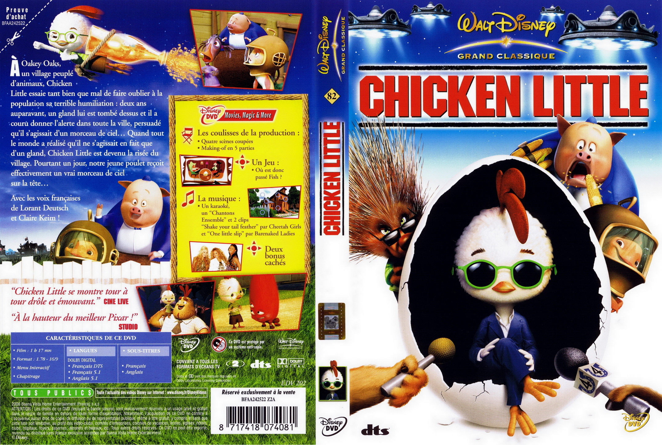 Chicken Little 2006 Dvd Pictures to Pin on Pinterest ...