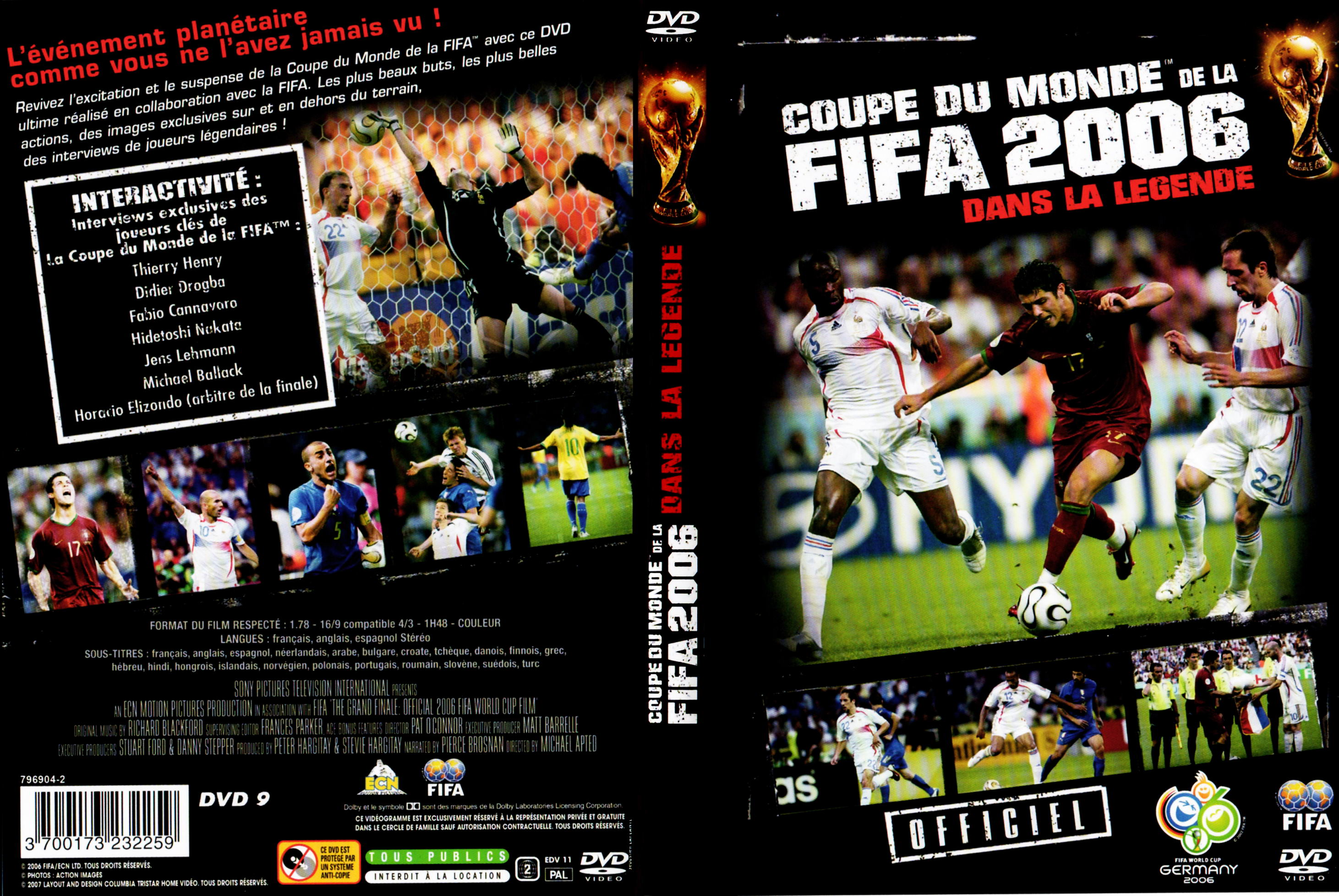 Zone 2 lettre a - Coupe du monde de football 2006 ...