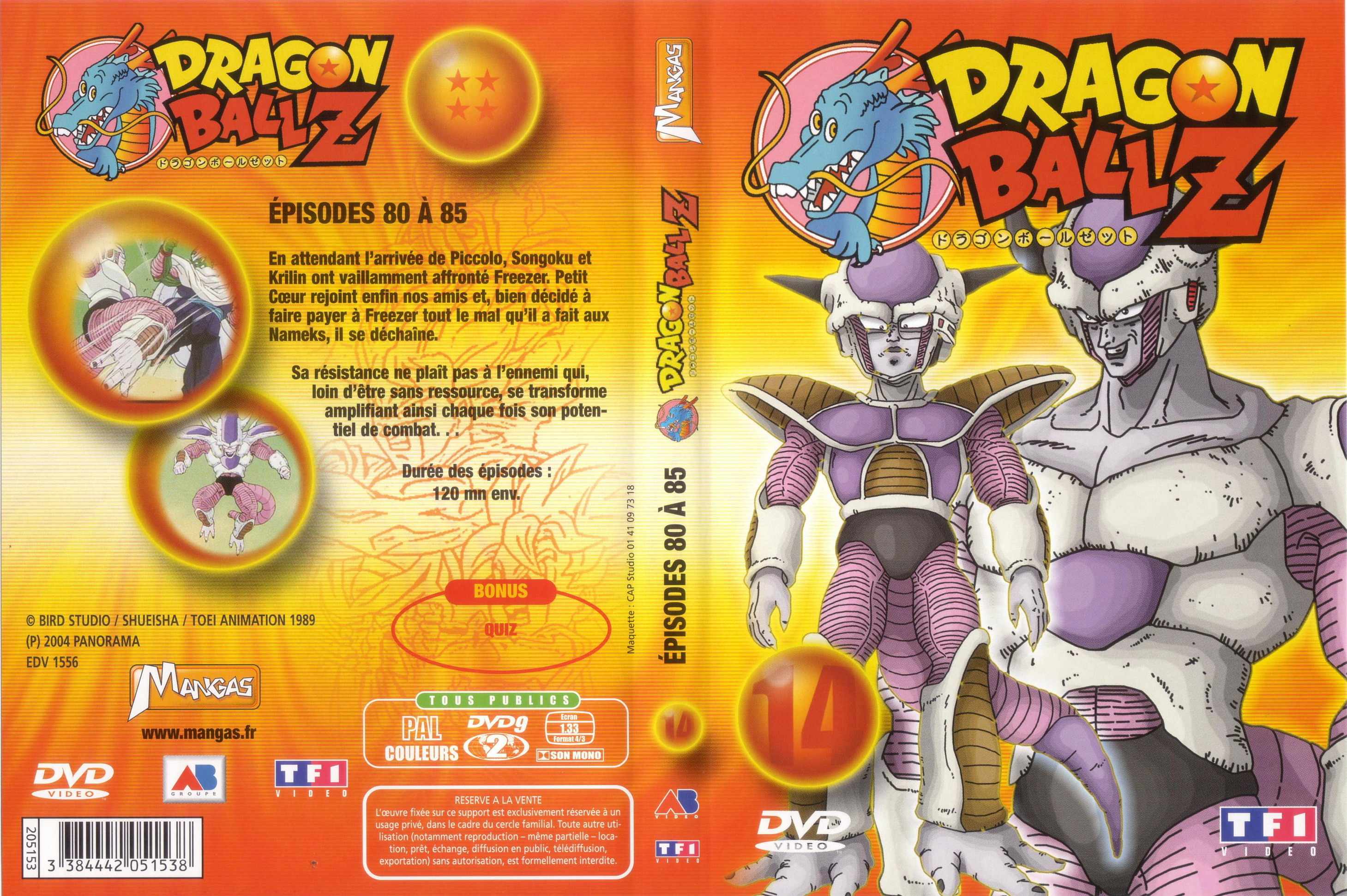 dragon ball z vol 14 Cover of the first dragon ball manga volume released in japan dragon ball is a  japanese manga series written and illustrated by akira toriyama the story   forty-two of the manga dragon ball z to reduce confusion for their readers  and  september 2016, they released a new 3-in-1 edition of the series in 14 volumes.