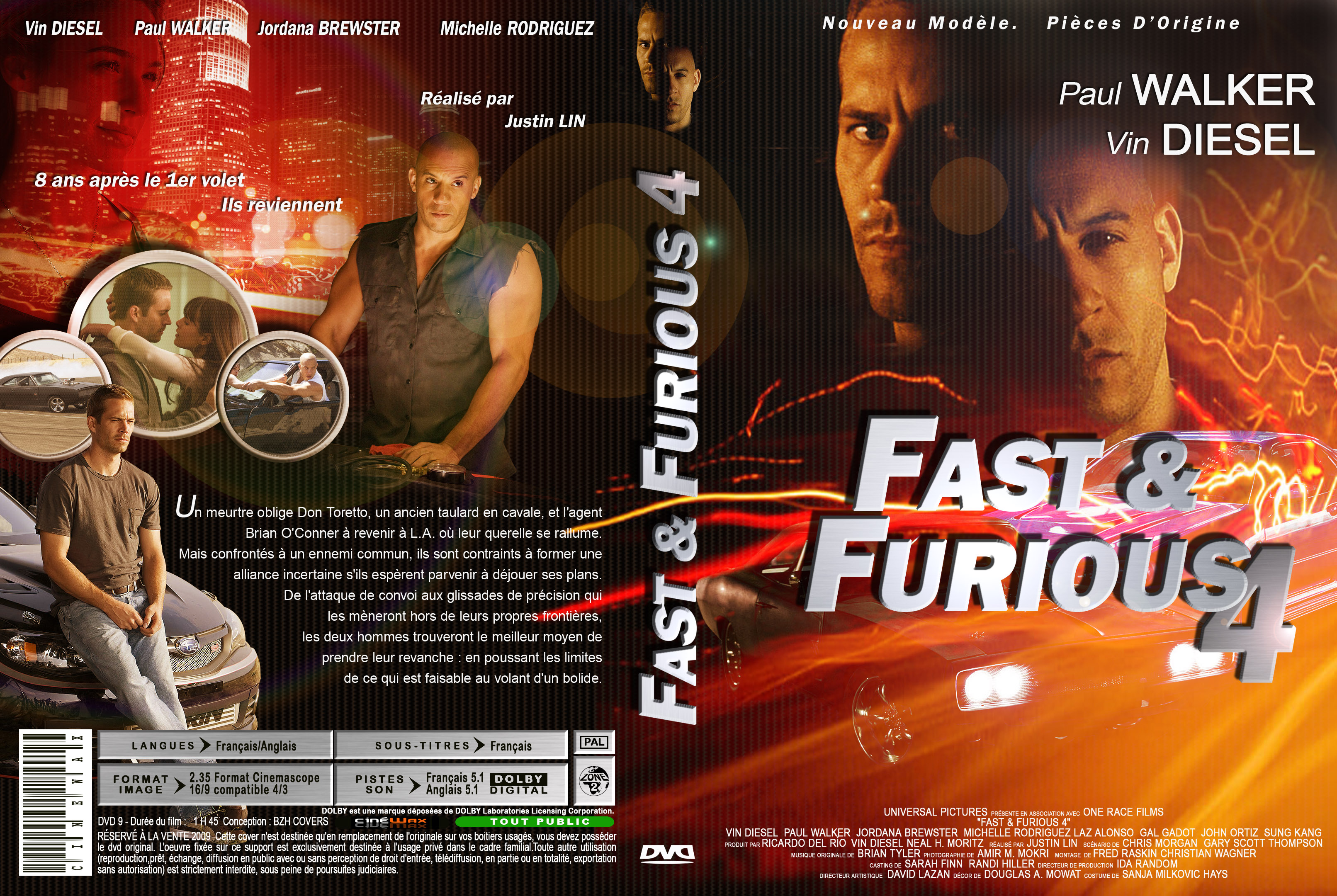 The gallery for --> Fast And Furious 4 Dvd Cover