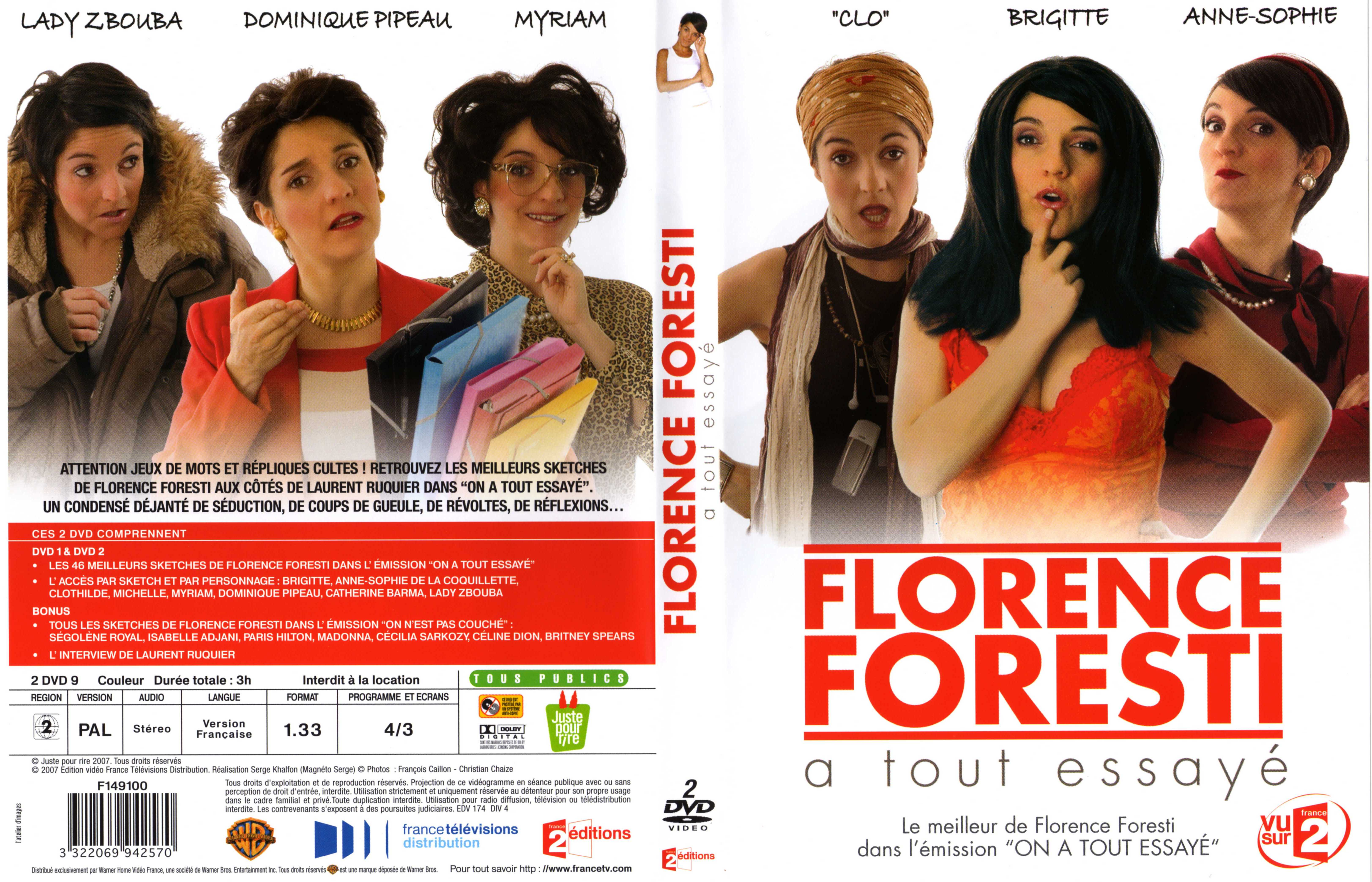 dvd florence foresti tout essaye