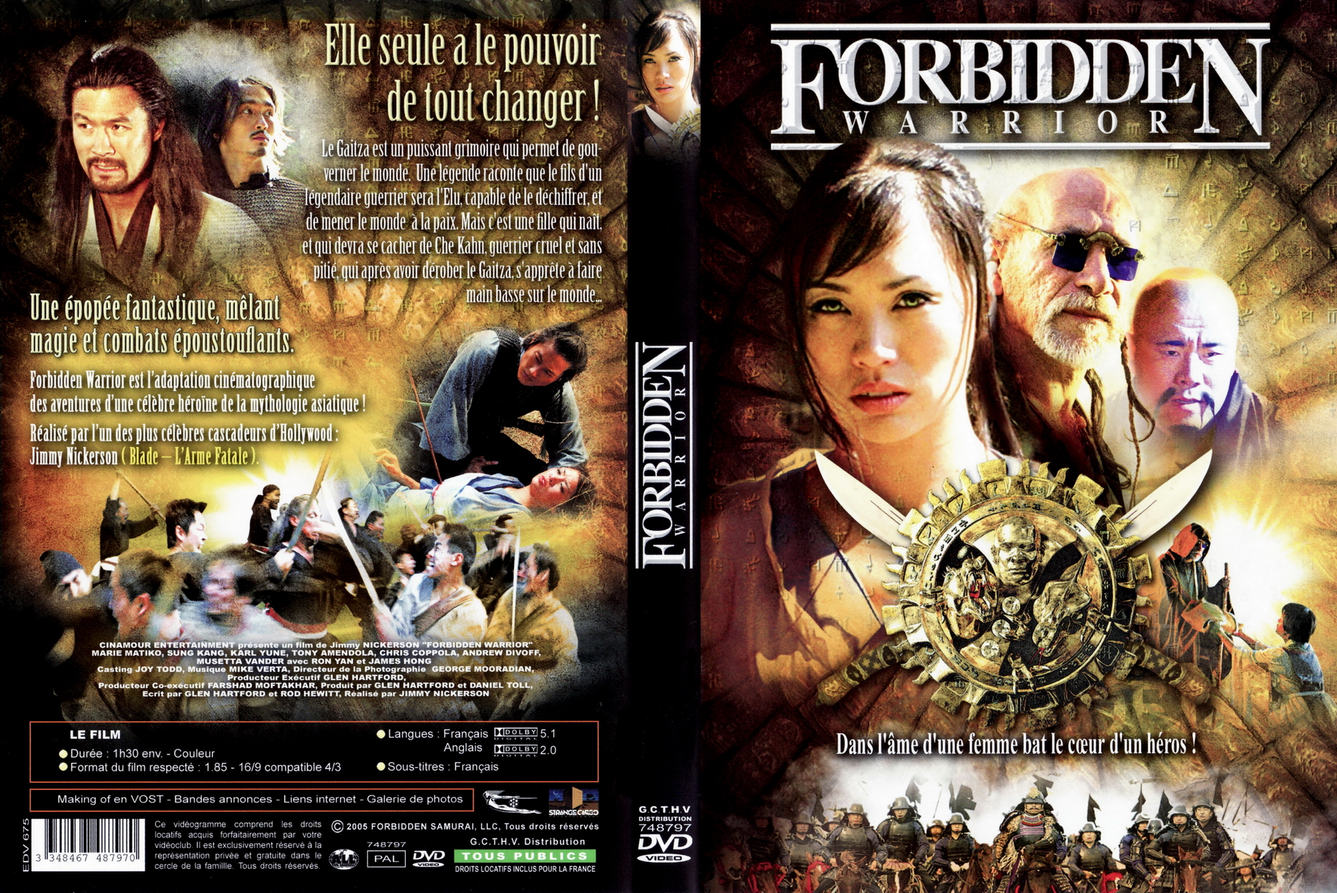 Forbidden Warrior