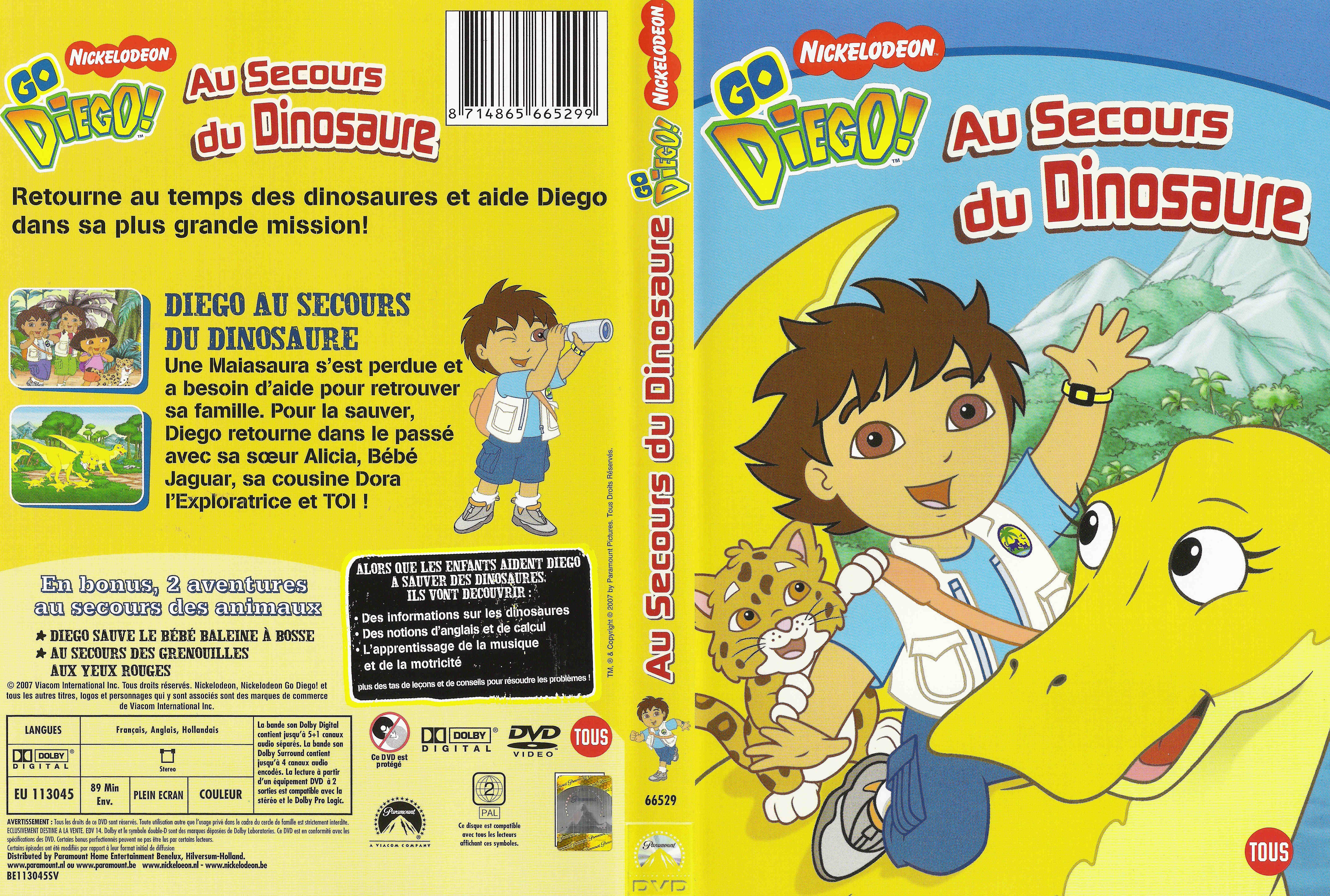 Go diego : Au secours du dinosaure Covers