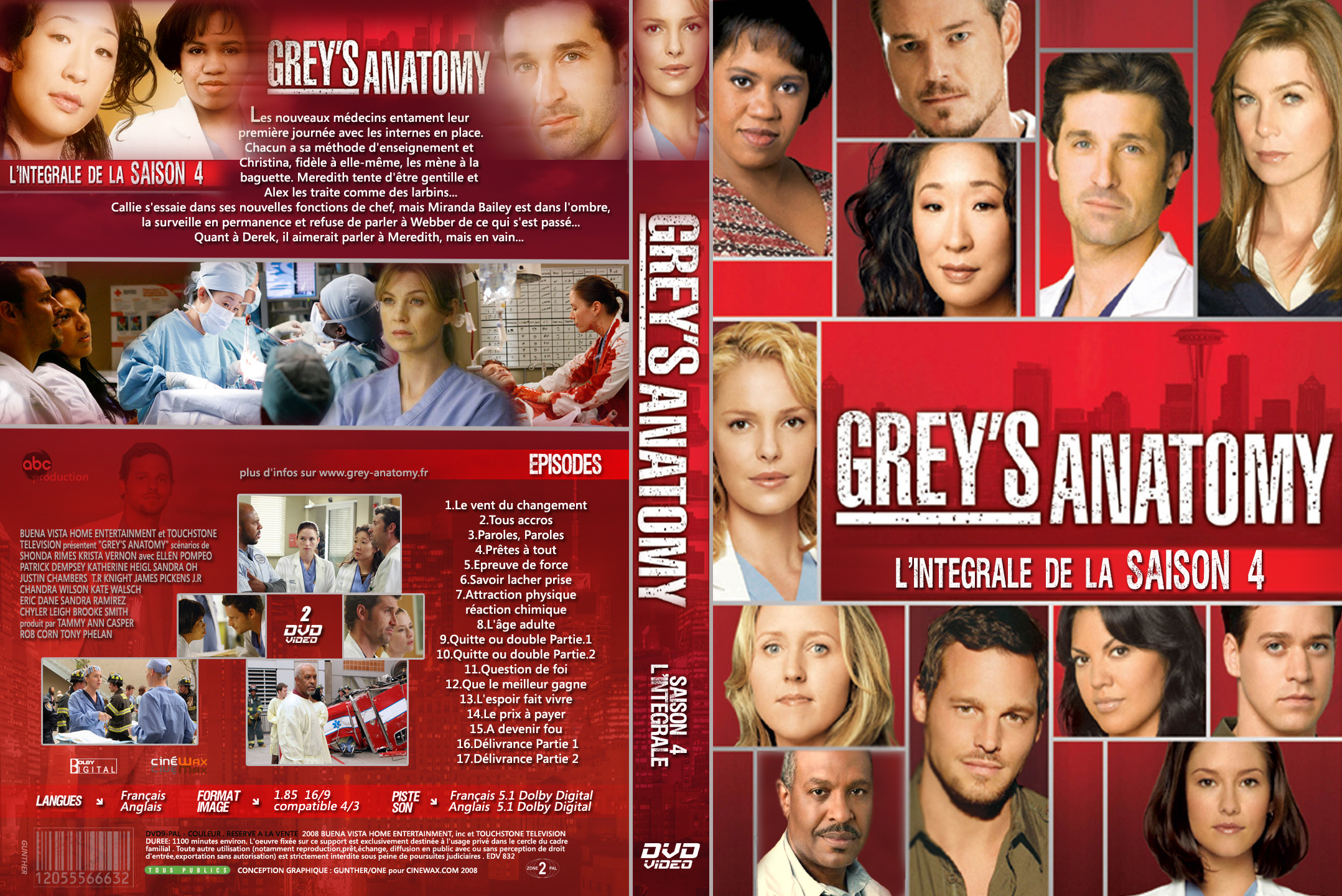 Grey Anatomy Saison Integrale Custom Gunther Hksima Blog