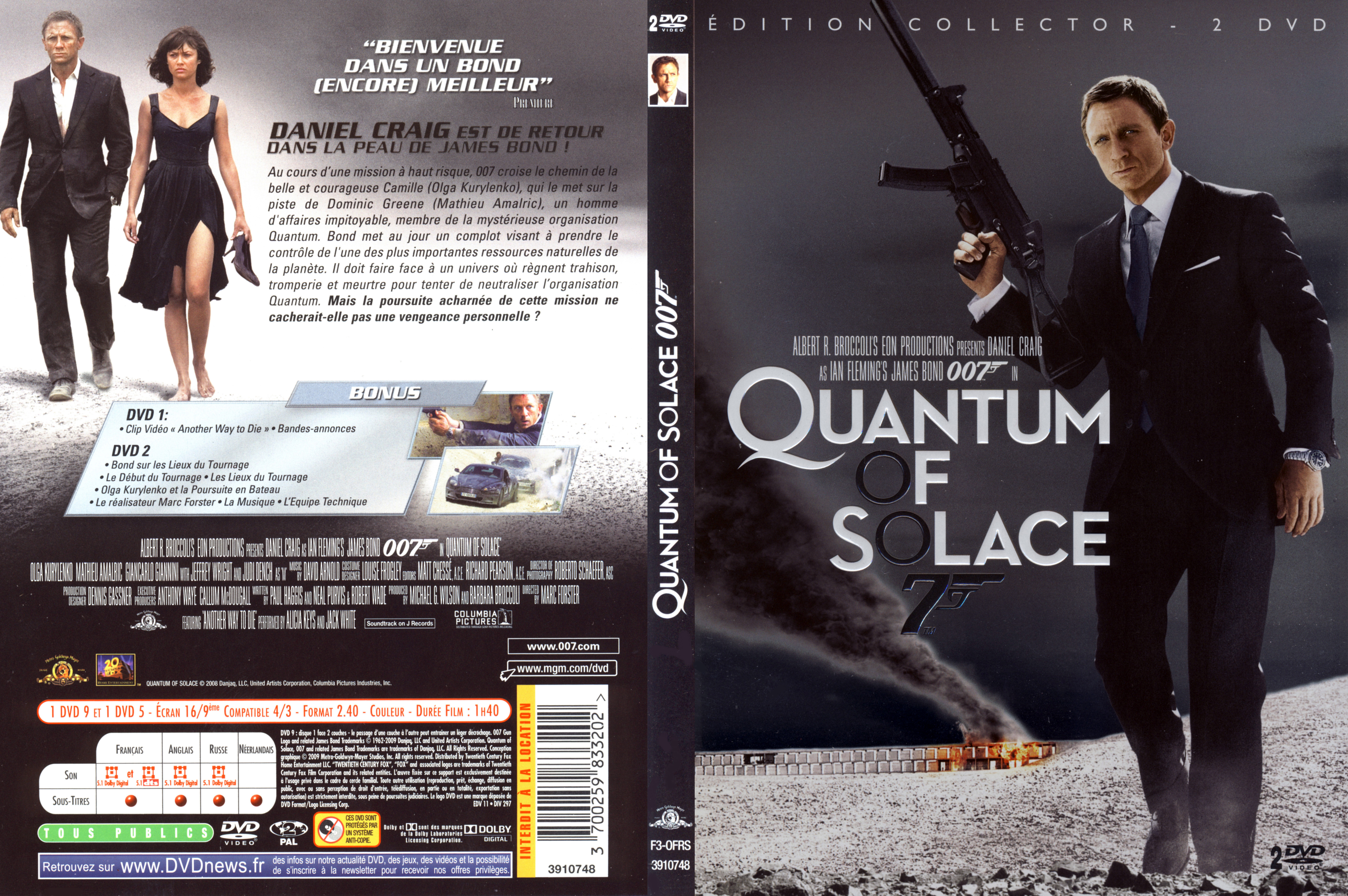 quantum of solace dvd cover - photo #14