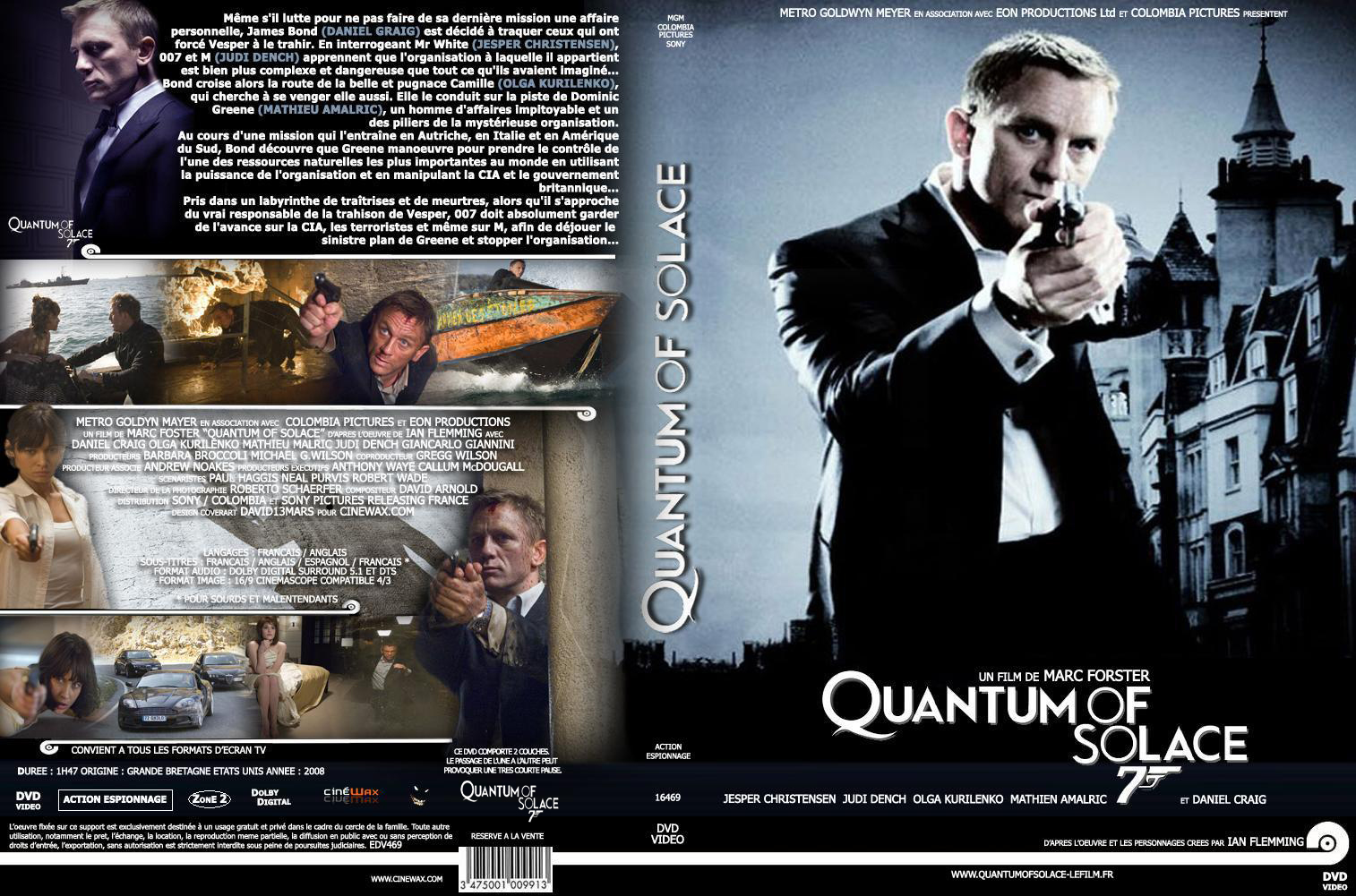 quantum of solace dvd cover - photo #32