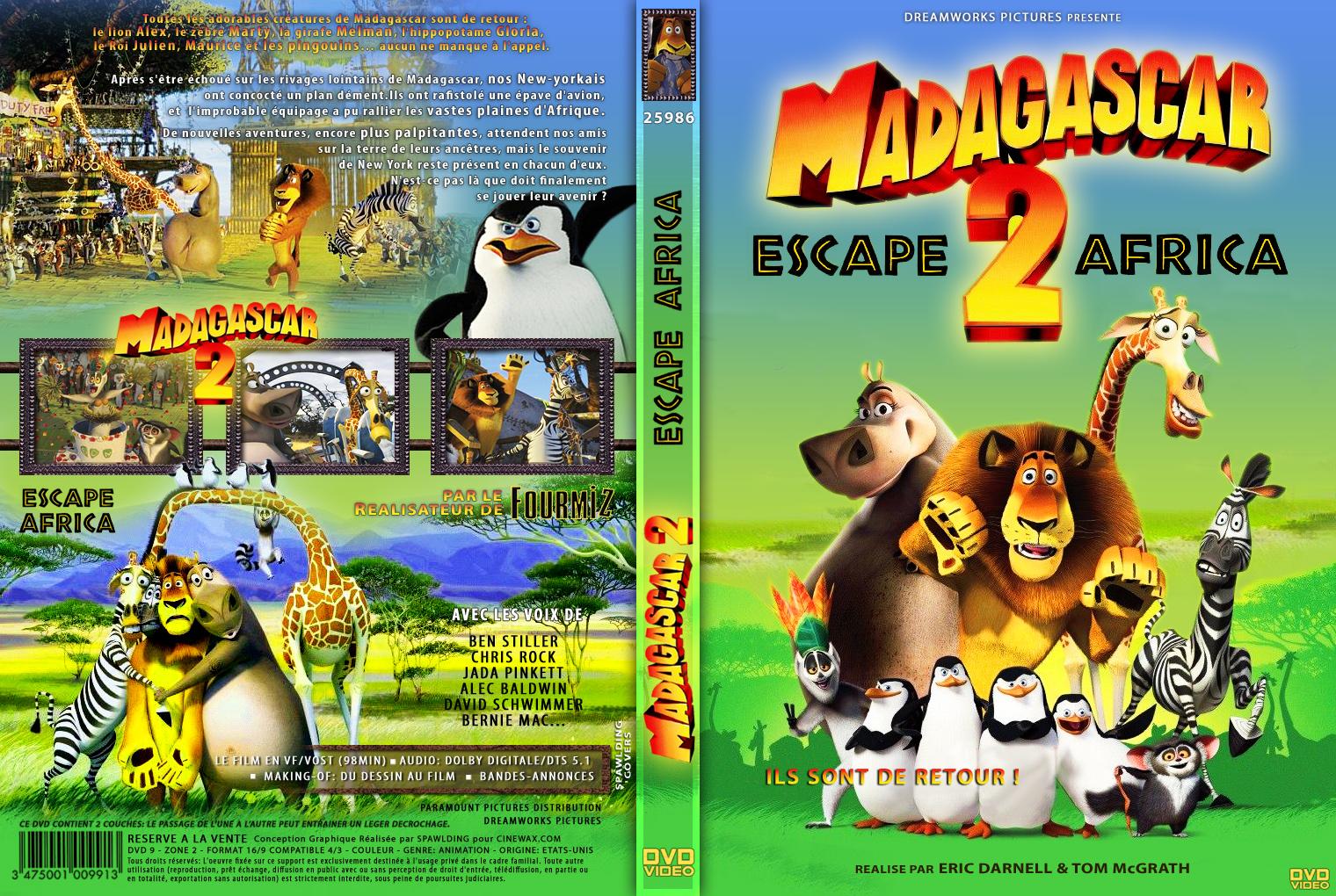 Madagascar 2 Movie Madagascar 2 Dvd