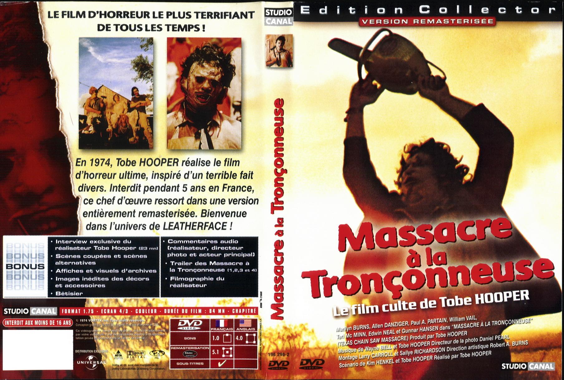 Massacre de la tronçonneuse 1