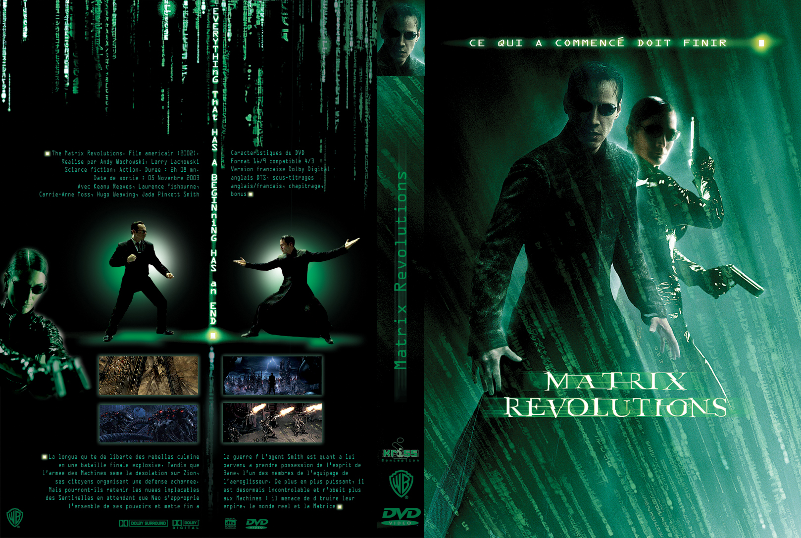 a review of the conspicuous film the matrix Review added: 4/13/04 the matrix revolutions the film 129 mins, r larry and andy wachowski were conspicuous in their absence.