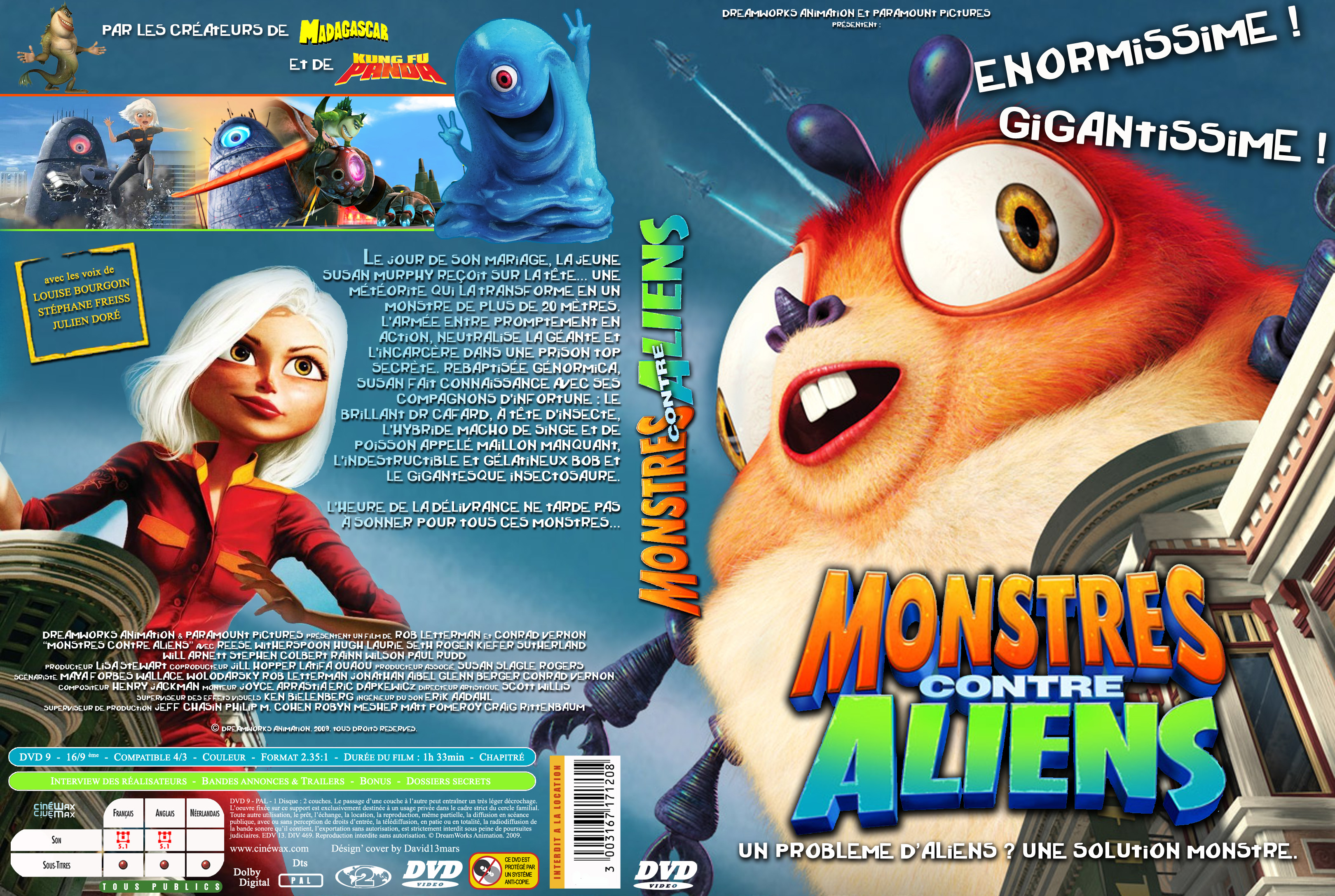 Monsters vs aliens susan gigantiss sex naked movie