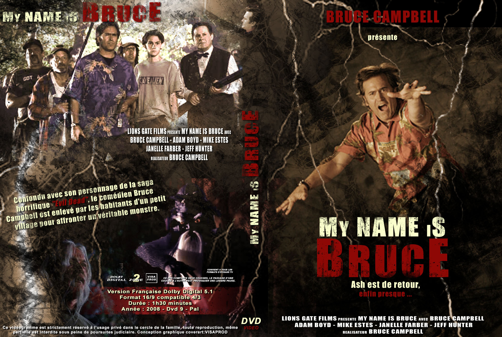 my name is bruce Hello, my name is bruce - the movie 1,130 likes 1 talking about this in a truly dark comedy, a&r has-been bruce effingham and his vengeful.