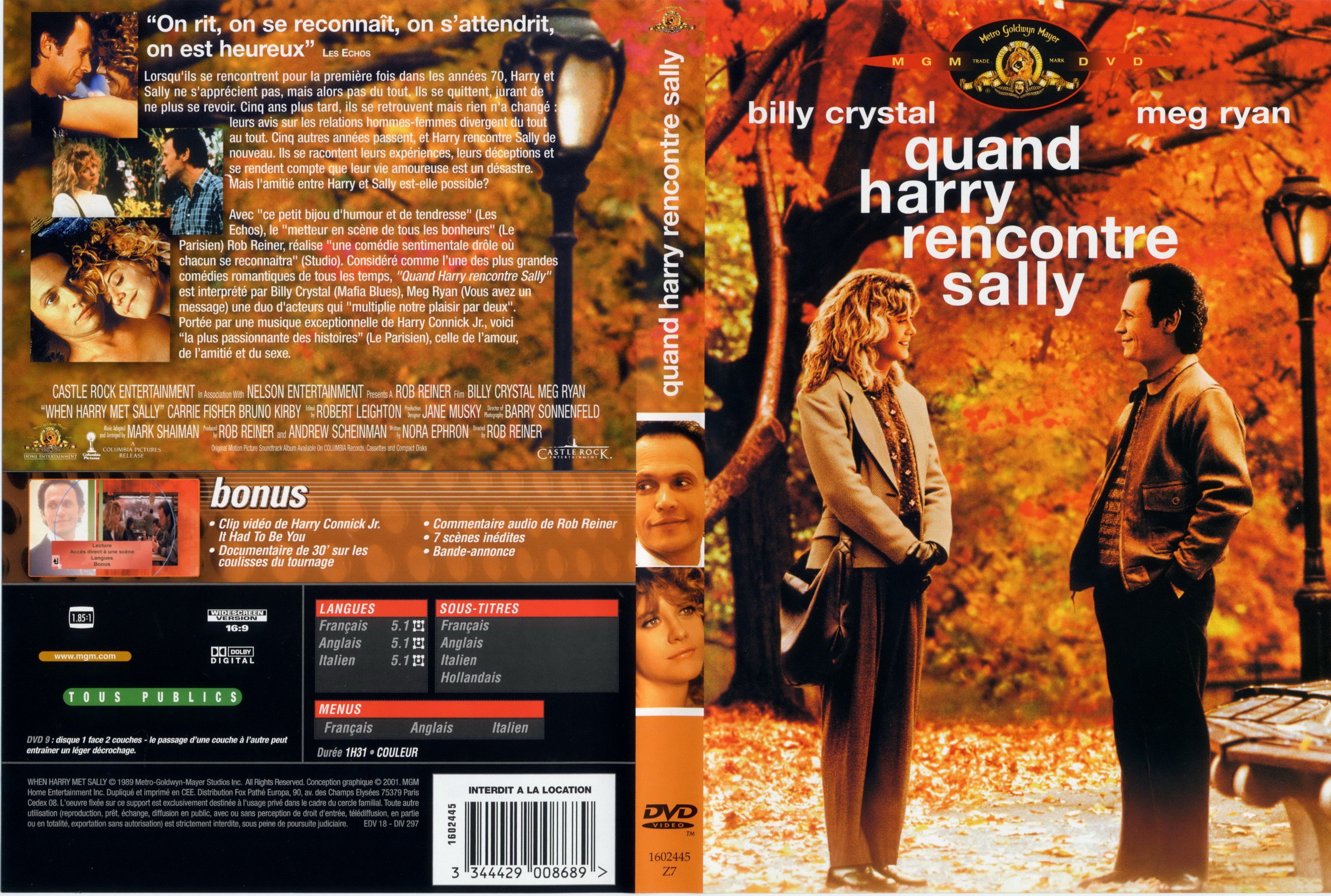 Quand harry rencontre sally streaming vf youwatch