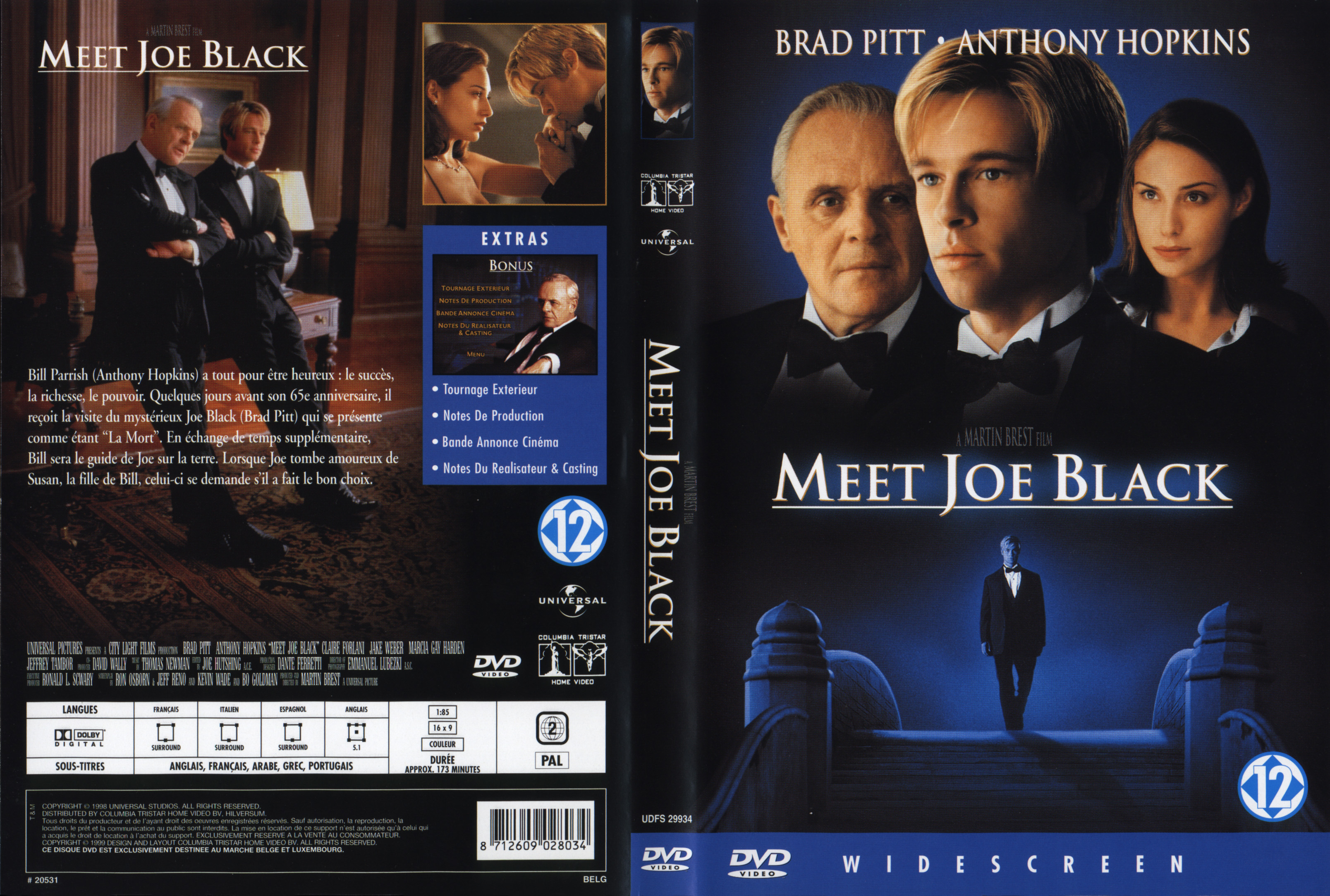 Dvd rencontre avec joe black