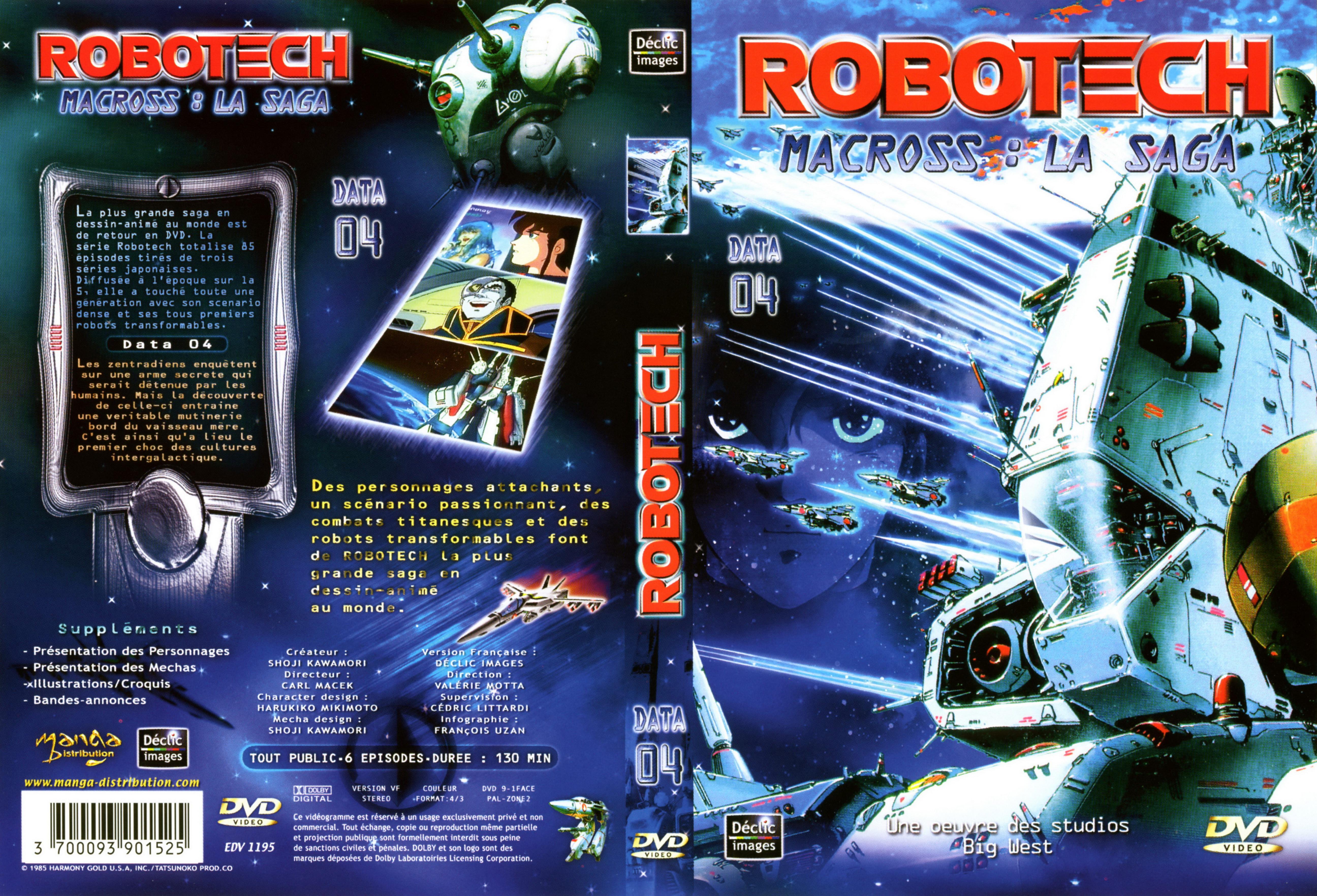 Macross Dvd Macross Saga Robotech Dvd