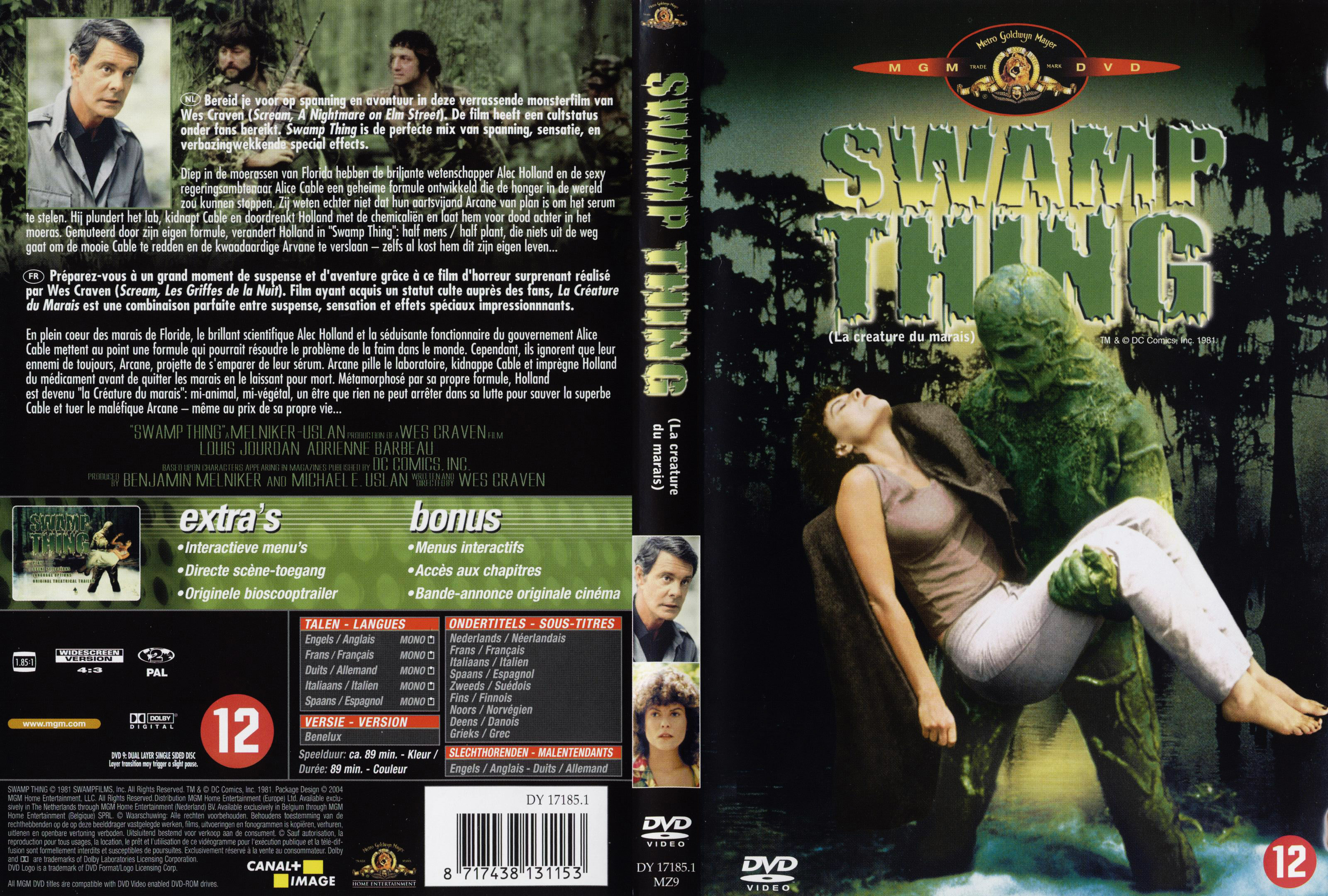 Harry Manfredini - Swamp Thing (Original Motion Picture Soundtrack)