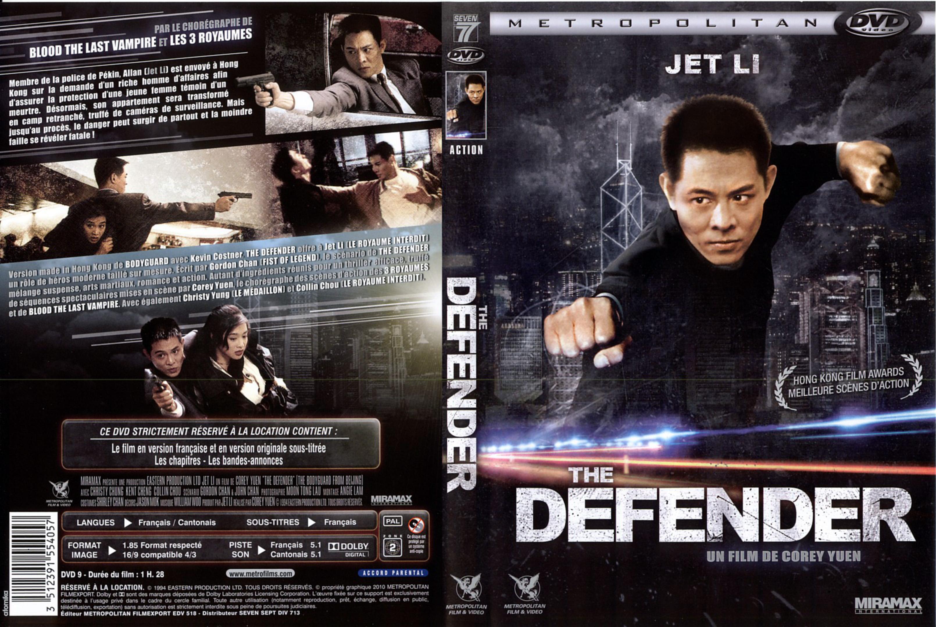 the defender 1994 jet li full movie