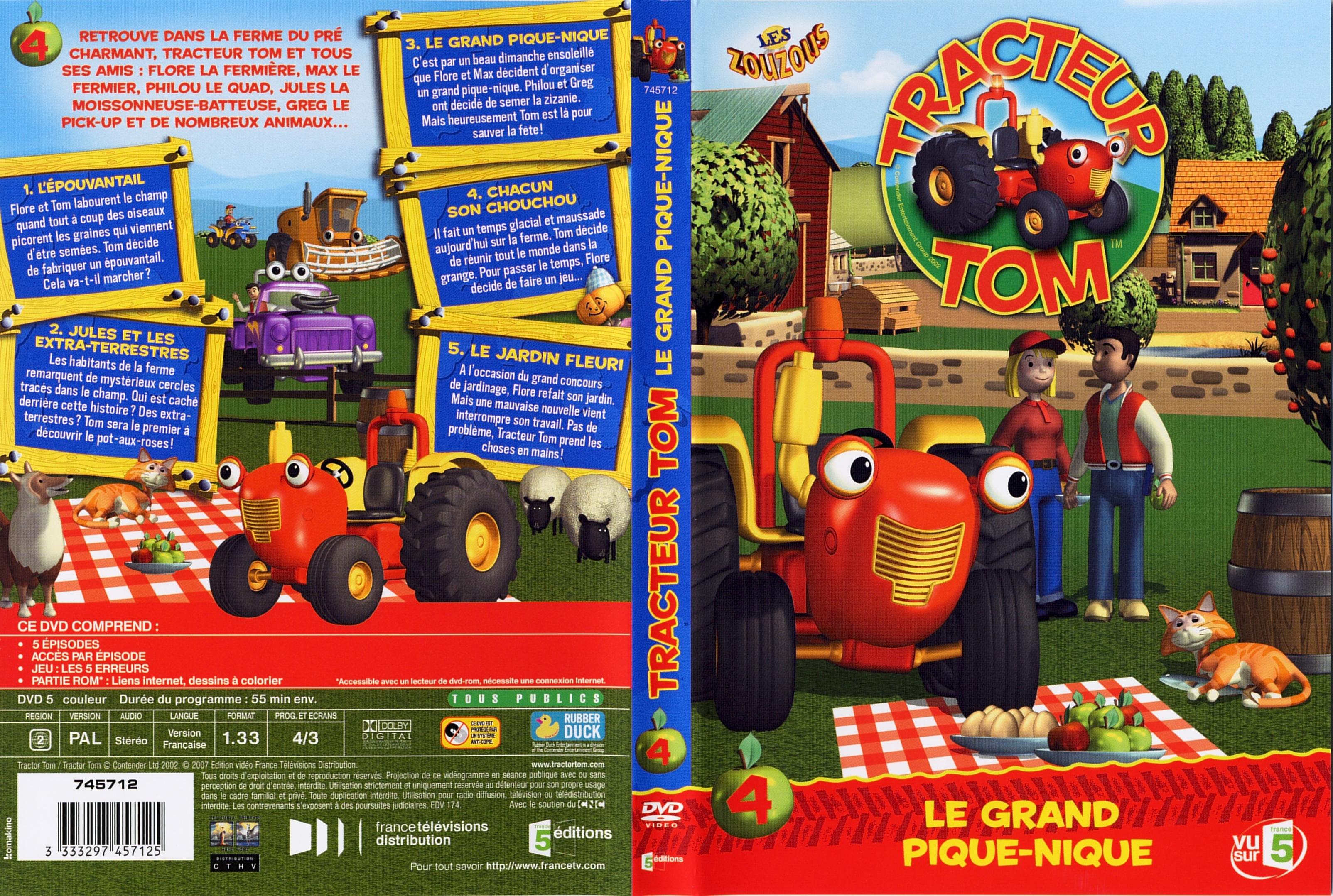 Tracteur tom saison 1 - Le tracteur tom ...