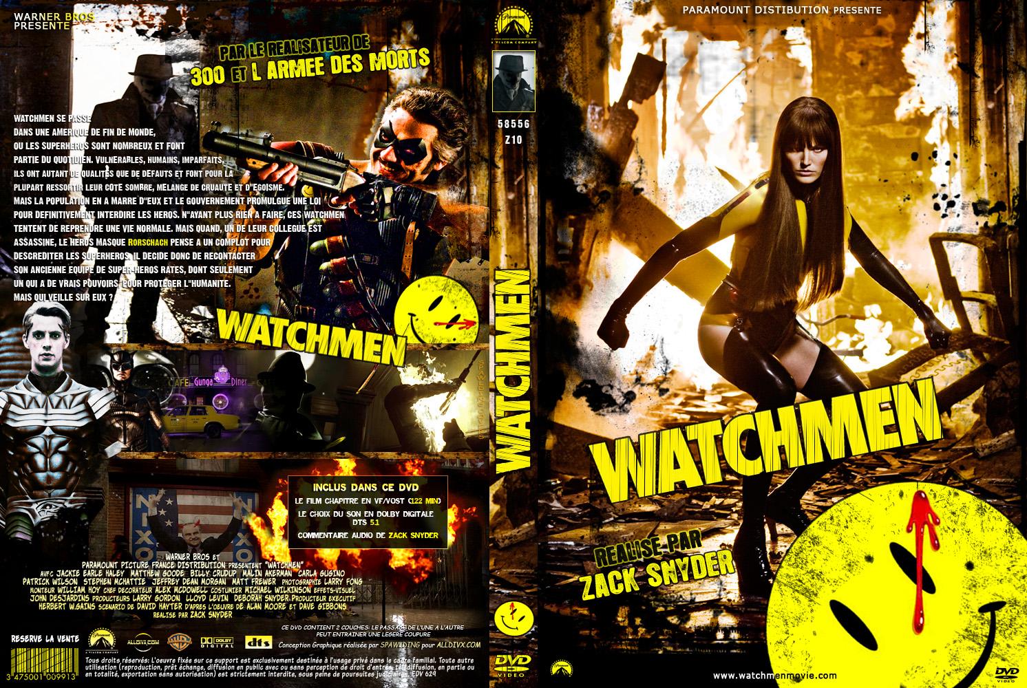 Watchmen Dvd Cover Wid...