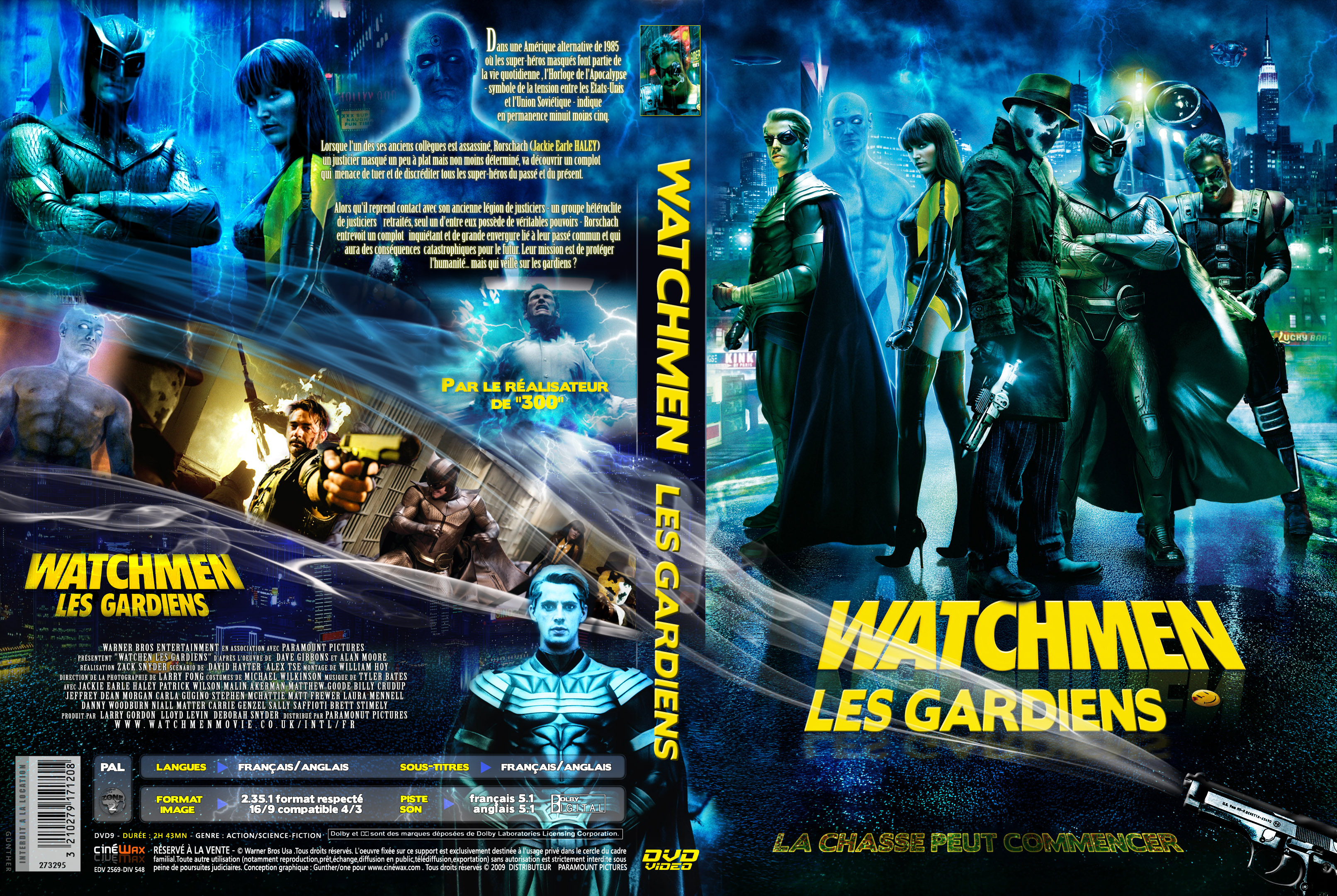 The gallery for --> Watchmen Dvd Cover